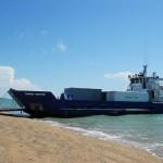 arriving onto Sweers Island